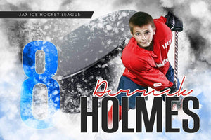 Urban Ice - Signature Series - Player Banner & Poster Template H