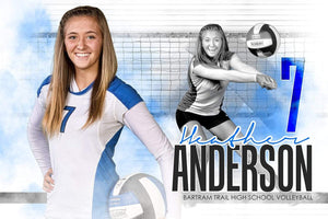 Urban Volleyball - Signature Series - Player Banner & Poster Template H