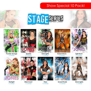 2019 Trade Show - Stage Series 10 Pack-Photoshop Template - Photo Solutions