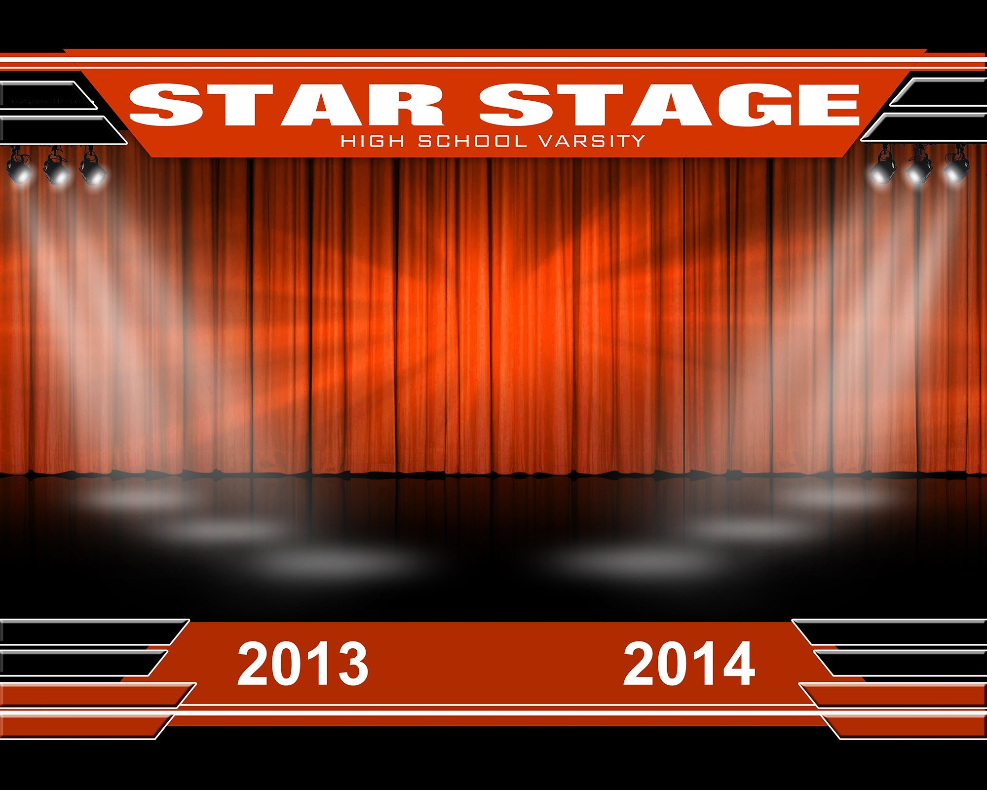 Star Stage v.2 - Xtreme Team Downloadable Template Photo Solutions PSMGraphix