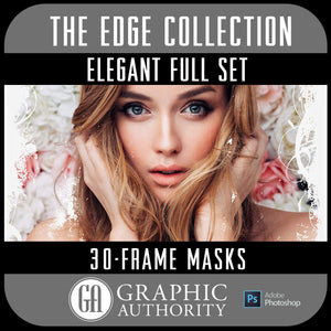 The EDGE Collection - ELEGANT - Full Collection - Frames-Photoshop Template - Graphic Authority