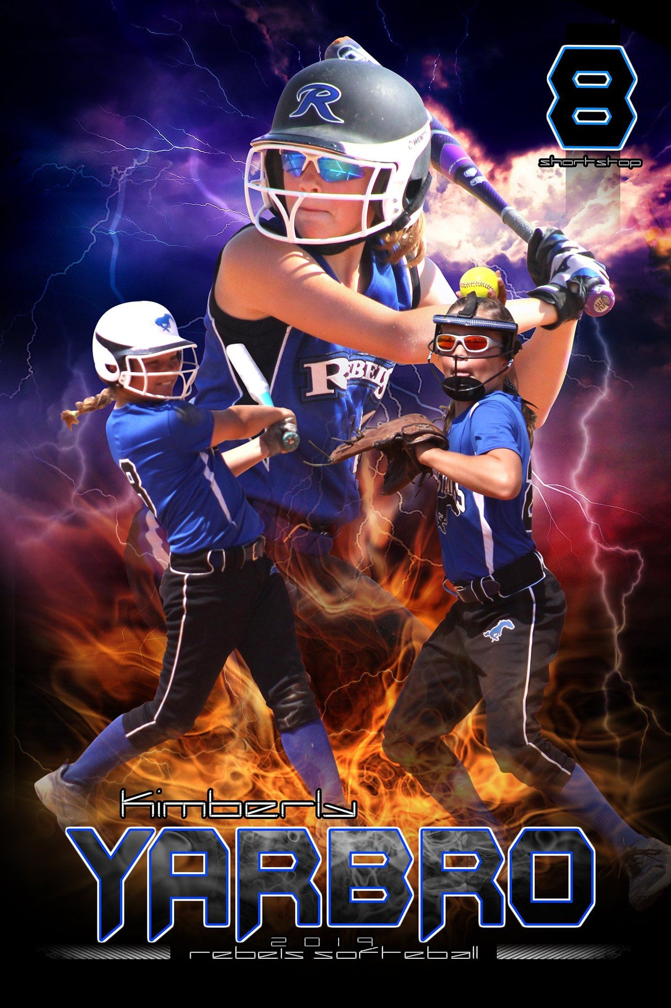 Thunderstruck v.2 - Action Extraction Poster/Banner-Photoshop Template - Photo Solutions