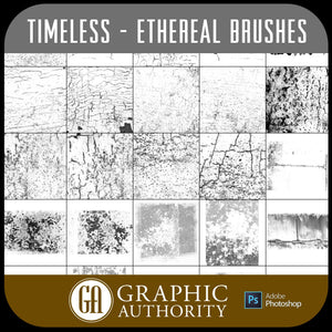 Timeless - Ethereal - Photoshop ABR Brushes-Photoshop Template - Graphic Authority