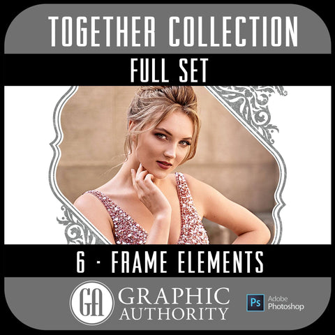 Together Full Collection - Full Set- 6 Frames-Photoshop Template - Graphic Authority