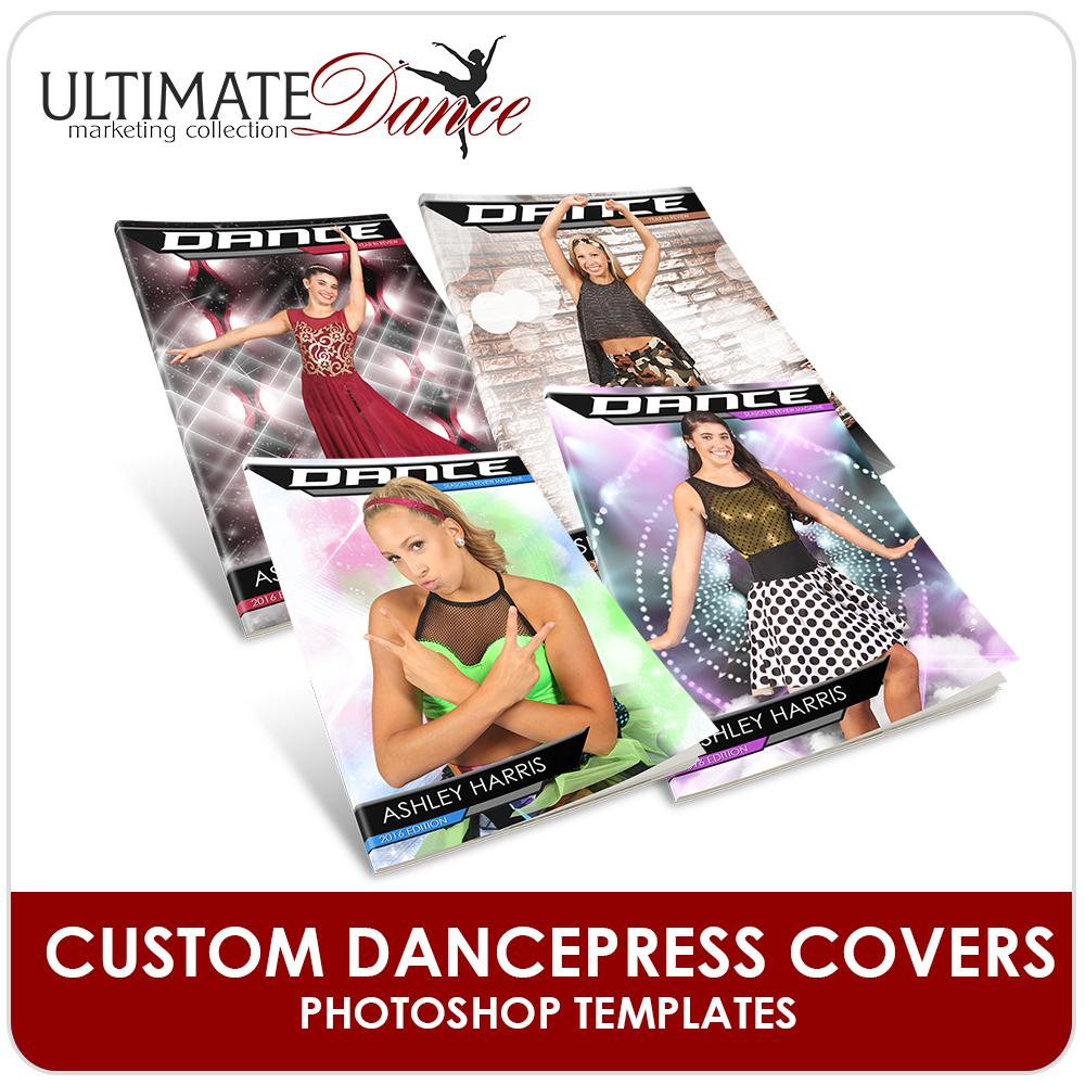 DancePRESS Cover Templates - Ultimate Dance Marketing-Photoshop Template - Photo Solutions