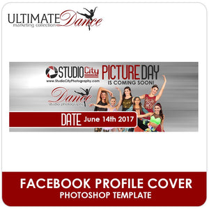 Facebook Cover Template - Ultimate Dance Marketing-Photoshop Template - Photo Solutions