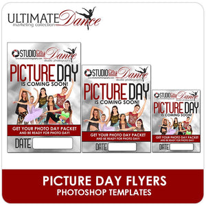 Photo Day Is Coming Posters & Flyers - Ultimate Dance Marketing-Photoshop Template - Photo Solutions