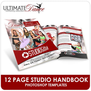 Dance Photo Day Playbook- Ultimate Dance Marketing-Photoshop Template - Photo Solutions