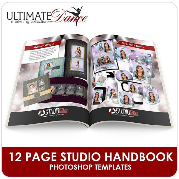 05 Dance Studio Marketing - STARTER KIT Downloadable Template Photo Solutions PSMGraphix