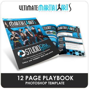 Photo Day Playbook - Ultimate Martial Arts Marketing-Photoshop Template - Photo Solutions