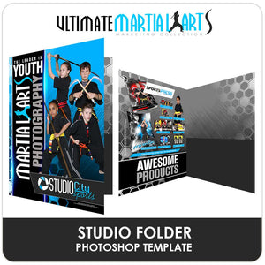 Studio Folder - Ultimate Martial Arts Marketing-Photoshop Template - Photo Solutions