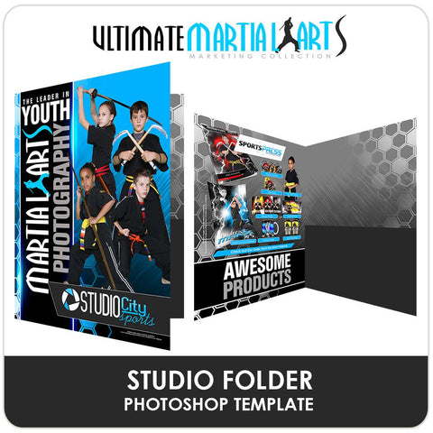 Studio Folder - Ultimate Martial Arts Marketing Downloadable Template Photo Solutions PSMGraphix