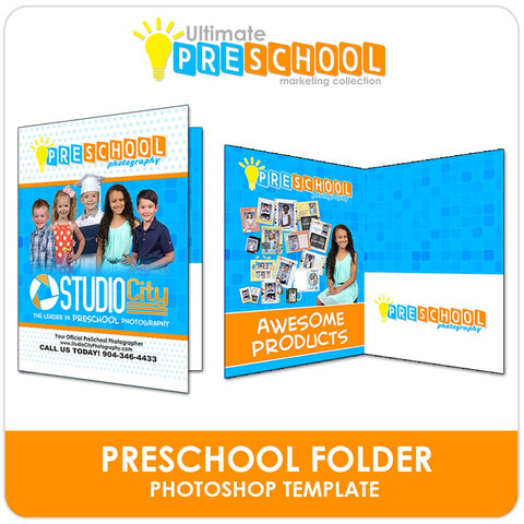 PreSchool Marketing Folder - Ultimate PreSchool Marketing