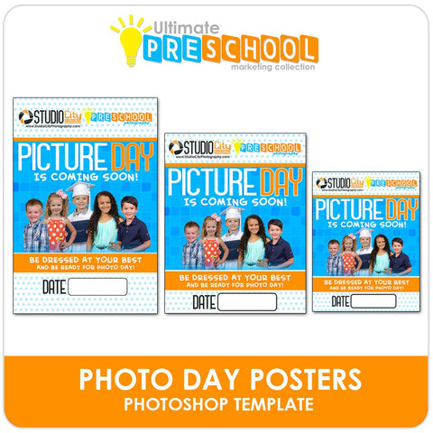 Photo Day Posters/Flyers - Ultimate PreSchool Marketing