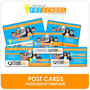 Post Card Mailers - Ultimate PreSchool Marketing