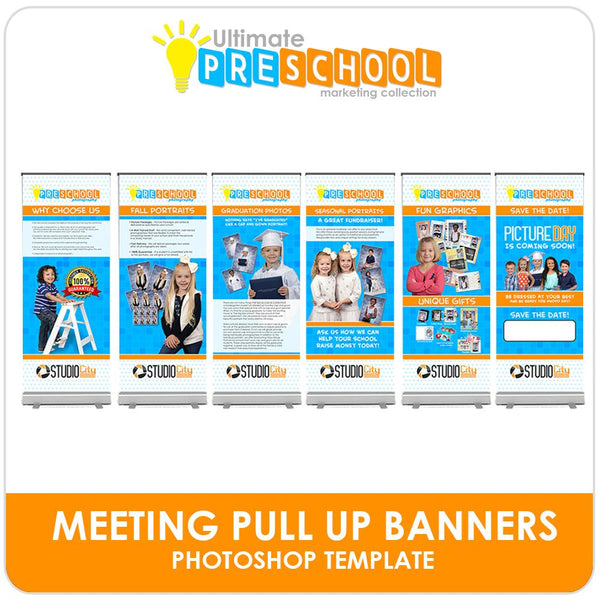 Ultimate PreSchool Marketing Collection-Photoshop Template - Photo Solutions