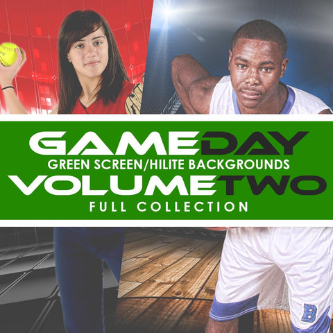 02 Full Set - V2 - Green Screen & HiLite Background Templates-Photoshop Template - Photo Solutions