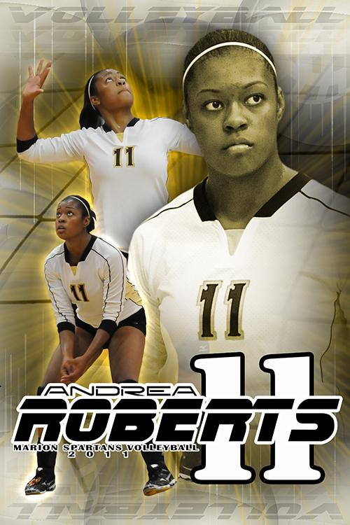 Volleyball v.5 - Action Extraction Poster/Banner Downloadable Template Photo Solutions PSMGraphix