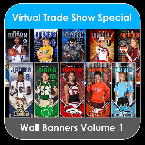 2021 Special - V.1 Wall Banner Template Collection-Photoshop Template - PSMGraphix