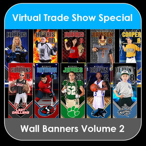 2021 Special - V.2 Wall Banner Template Collection-Photoshop Template - PSMGraphix