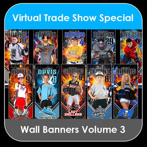 2021 Special - V.3 Wall Banner Template Collection-Photoshop Template - PSMGraphix