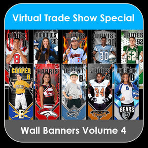 2021 Special - V.4 Wall Banner Template Collection-Photoshop Template - PSMGraphix