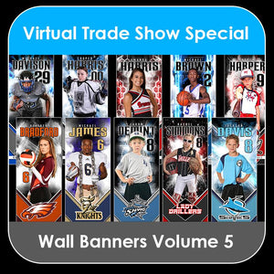 2021 Special - V.5 Wall Banner Template Collection-Photoshop Template - PSMGraphix