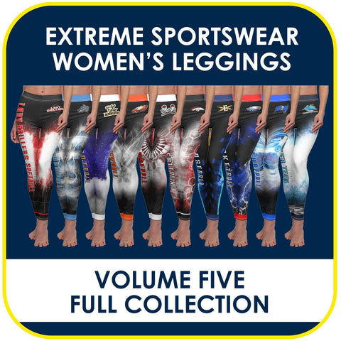 05 - Volume 5 - Women's Leggings Cut & Sew Extreme Sportswear Collection-Photoshop Template - PSMGraphix