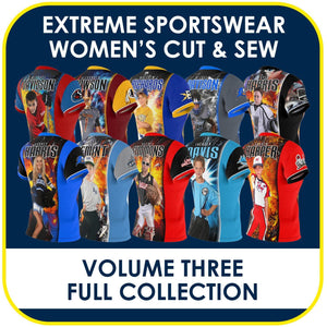03 - Volume 3 - Women's Cut & Sew Extreme Sportswear Collection-Photoshop Template - PSMGraphix