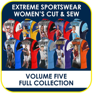05 - Volume 5 - Women's Cut & Sew Extreme Sportswear Collection-Photoshop Template - PSMGraphix