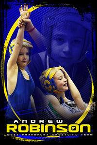 Wrestling v.5 - Action Extraction Poster/Banner Downloadable Template Photo Solutions PSMGraphix