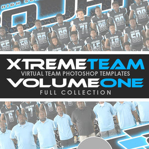 01 - Xtreme Team - V1.2 - Full Photoshop Template Collection Downloadable Template Photo Solutions PSMGraphix