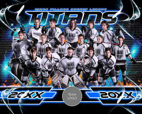 Ice v.3-2 - Xtreme Team Photoshop Template-Photoshop Template - Photo Solutions