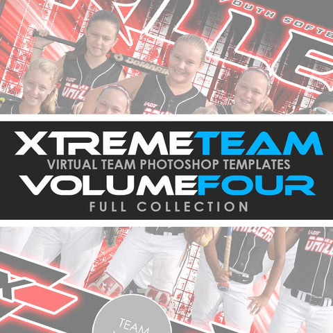 04 - Xtreme Team - V4.2 - Full Photoshop Template Collection Downloadable Template Photo Solutions PSMGraphix