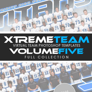 05 - Xtreme Team - V5.2 - Full Photoshop Template Collection Downloadable Template Photo Solutions PSMGraphix