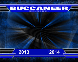 Buccaneer v.1 - Xtreme Team Downloadable Template Photo Solutions PSMGraphix