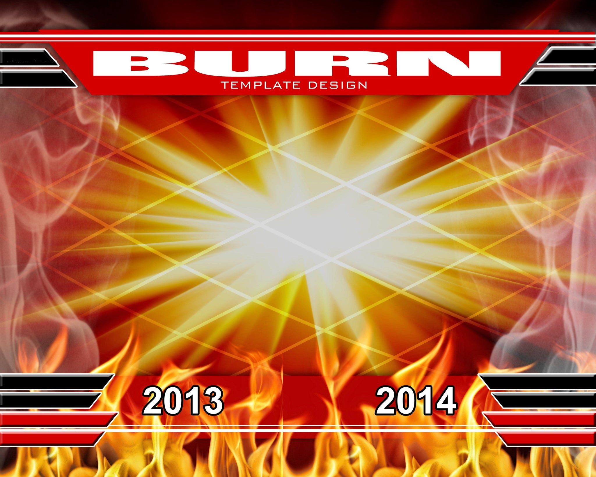 Burn v.1 - Xtreme Team Downloadable Template Photo Solutions PSMGraphix