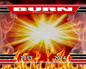 Burn v.1 - Xtreme Team-Photoshop Template - Photo Solutions