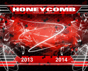 Honeycomb v.3 - Xtreme Team-Photoshop Template - Photo Solutions