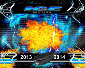 ICE v.3 - Xtreme Team Downloadable Template Photo Solutions PSMGraphix