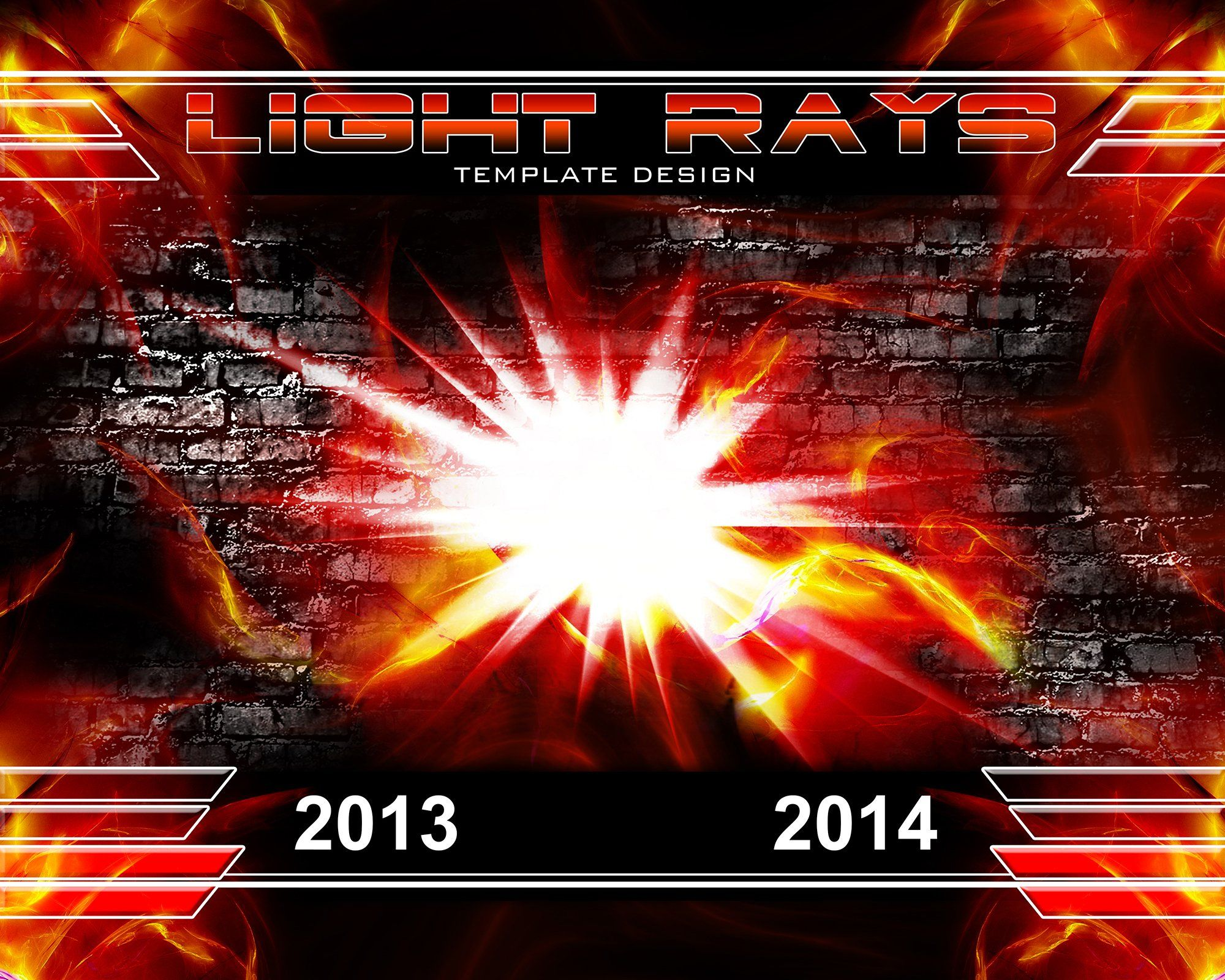 Light Rays v.3 - Xtreme Team-Photoshop Template - Photo Solutions