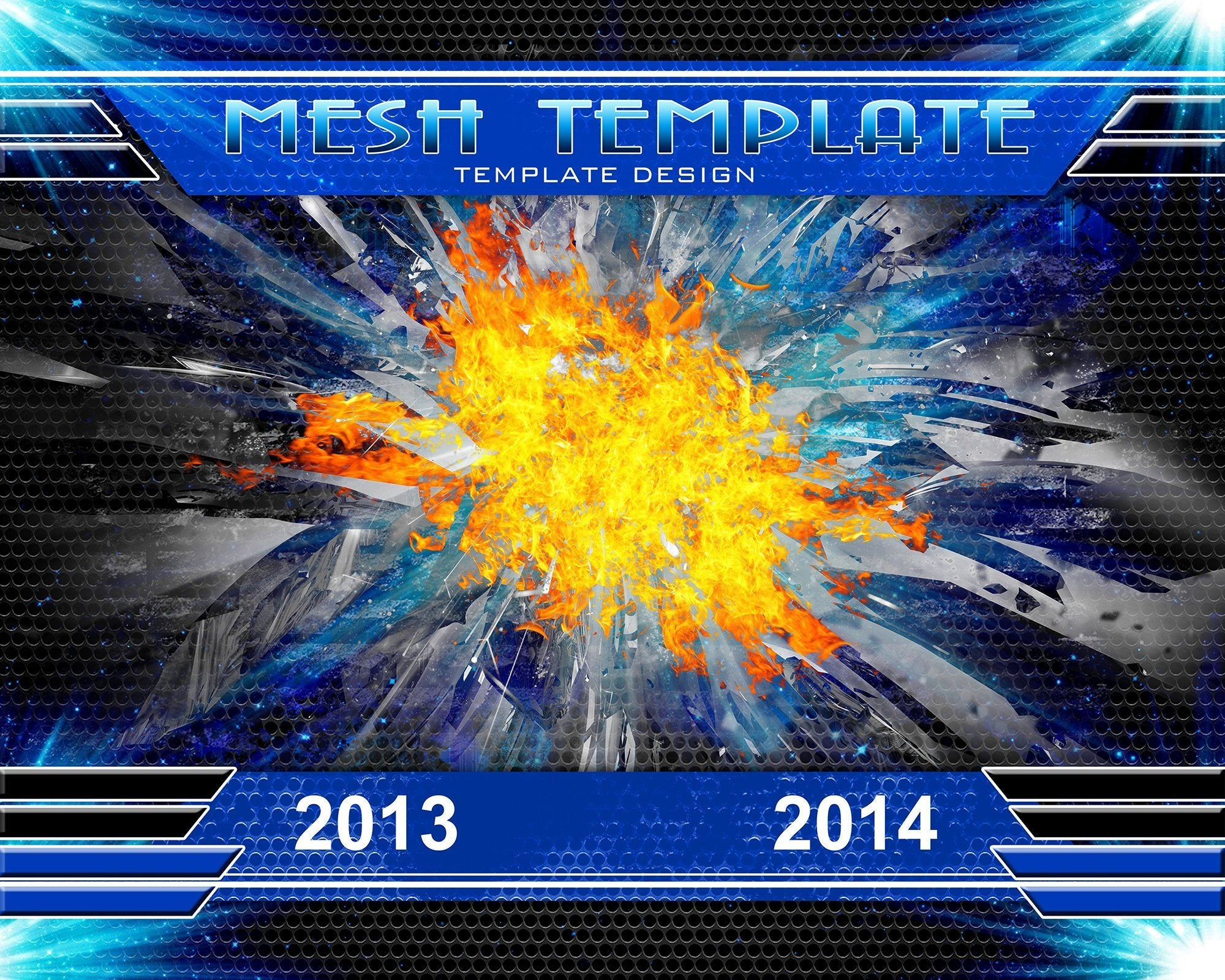 Mesh v.3 - Xtreme Team Downloadable Template Photo Solutions PSMGraphix