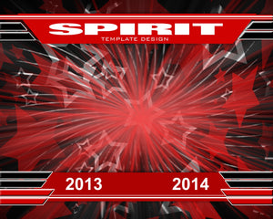 Spirit v.1 - Xtreme Team Downloadable Template Photo Solutions PSMGraphix