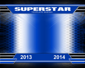 Superstar v.1 - Xtreme Team-Photoshop Template - Photo Solutions