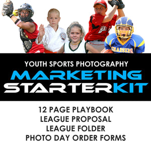 01 Youth Sports Marketing - STARTER KIT Photoshop Template -  PSMGraphix