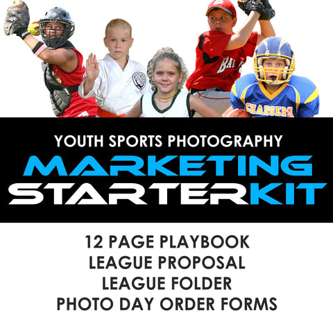 01 Youth Sports Marketing - STARTER KIT Downloadable Template Photo Solutions PSMGraphix