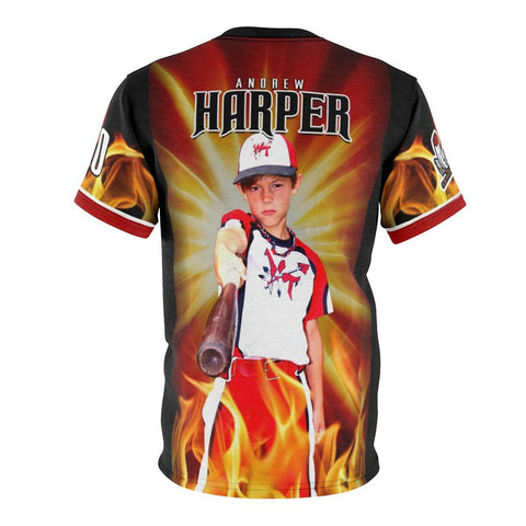 Burn - V.1 - Extreme Sportswear Cut & Sew Shirt Template-Photoshop Template - Photo Solutions