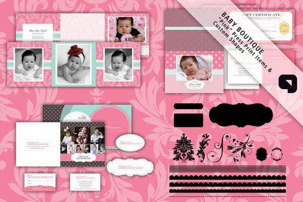 Baby Boutique - Full Collection-Photoshop Template - Graphic Authority