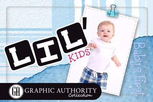 Lil' Kids - Full Collection-Photoshop Template - Graphic Authority