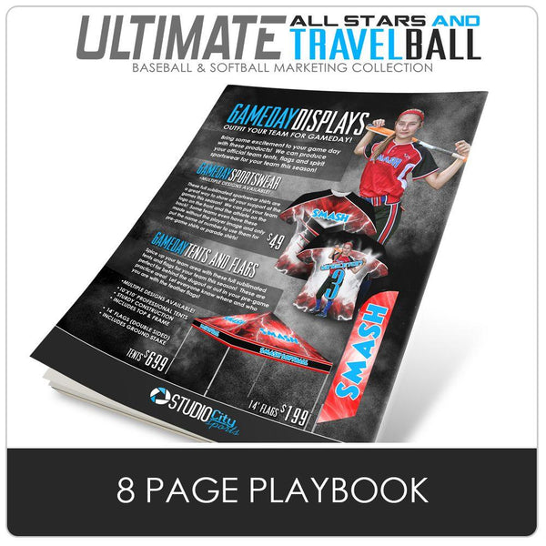 2019 Trade Show - Ultimate All Star & Travel Ball Marketing Collection-Photoshop Template - Photo Solutions